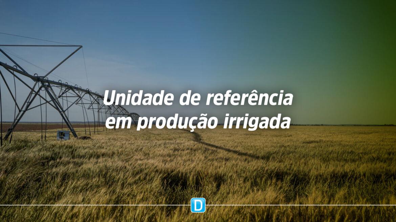 Oeste da Bahia abriga primeira Unidade de Referência em Produção Irrigada do Brasil