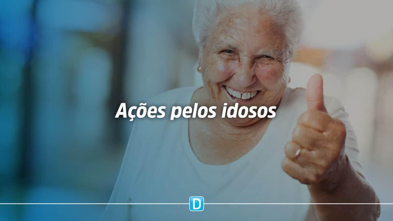 Ações voltadas à pessoa idosa somam mais de R$ 177,8 milhões
