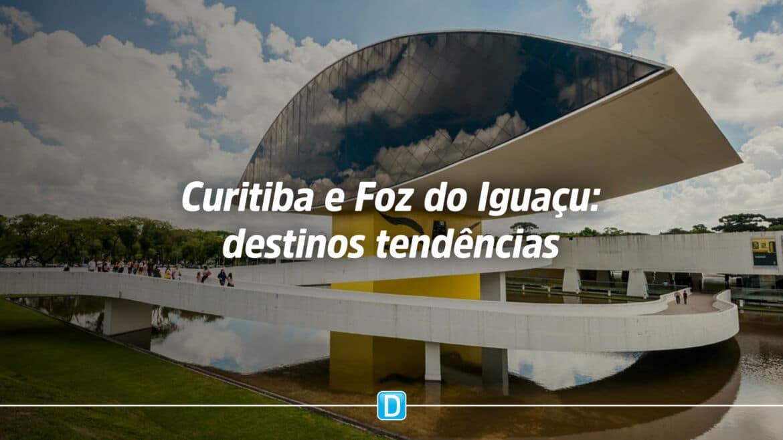 Curitiba e Foz do Iguaçu (PR) aparecem como destinos tendências para 2021 em lista do Ministério do Turismo