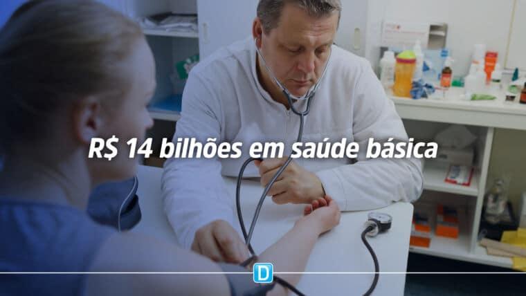 Saúde de Atenção Primária terá mais de R$ 14 bilhões em 2021
