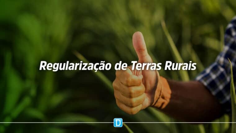 Terras rurais da União podem ser regularizadas