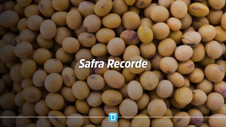 Safra 2020/2021 tem volume recorde de mais de 260 milhões de toneladas