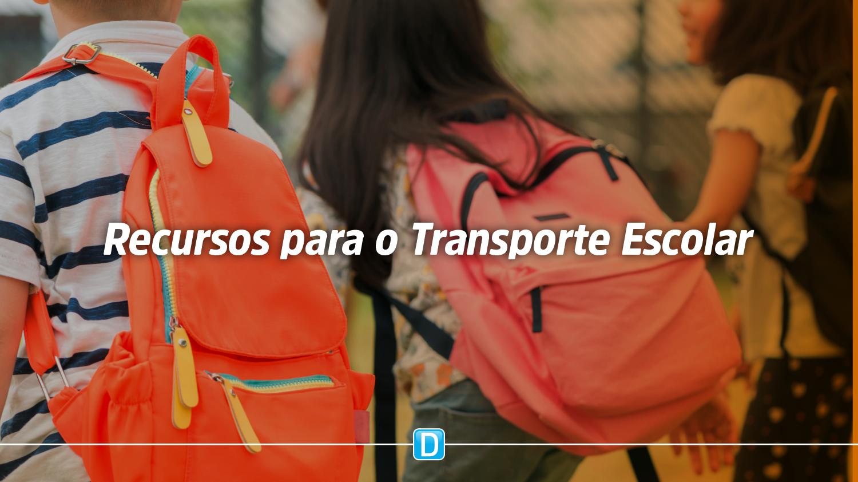 Estados, municípios e Distrito Federal recebem primeira parcela do Programa Nacional de Transporte Escolar