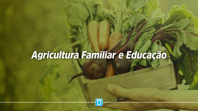 FNDE faz acordo para fortalecer agricultura familiar e alimentação escolar