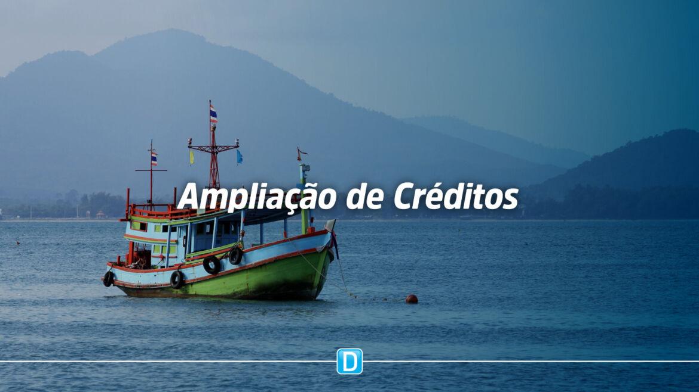 Pescadores e aquicultores poderão ter melhorias na oferta de créditos
