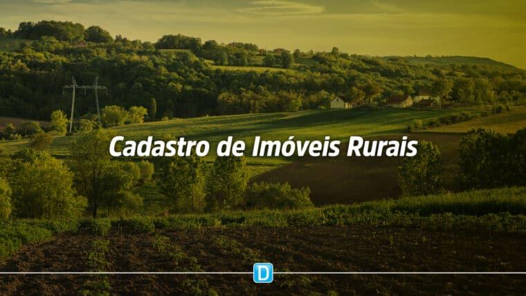 Procedimentos para cadastro de imóveis rurais podem ser realizados de forma digital