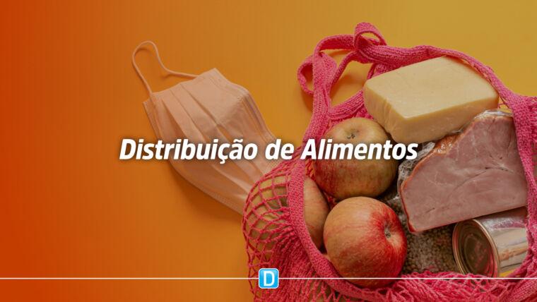 Estratégia visa distribuição gratuita de alimentos para públicos em situação de insegurança alimentar e nutricional