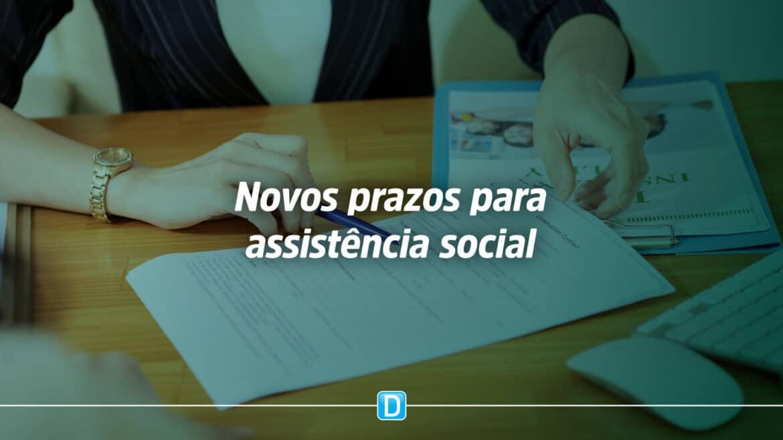 Entidades ou organizações de Assistência Social têm até 31 de dezembro para apresentarem plano de ação e relatório de atividades ao CMAS