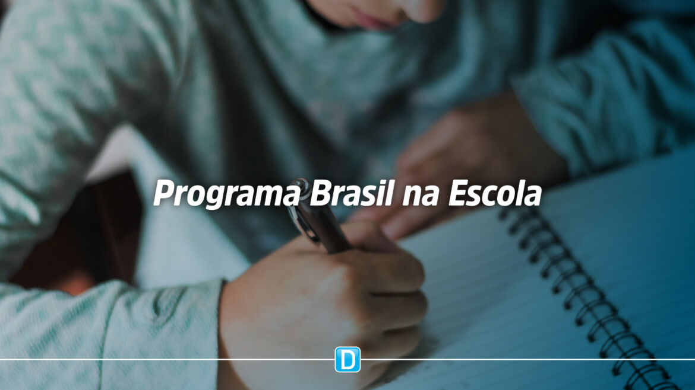 Programa Brasil na Escola busca permanência, aprendizagem e progressão escolar