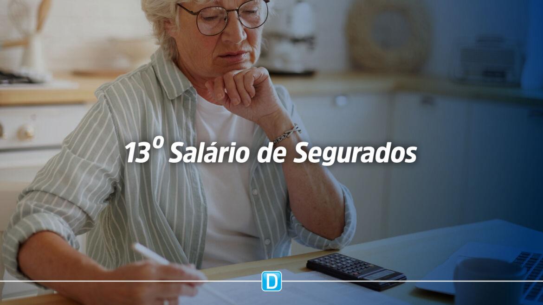 Primeira parcela do 13º salário de aposentados e pensionistas será paga no final do mês