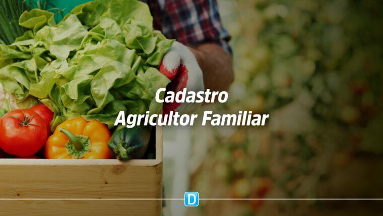 Decreto estabelece novas regras para implementação do Cadastro Nacional do Agricultor Familiar