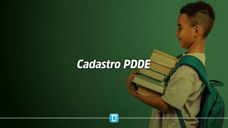 Atenção municípios para cadastro do Programa Dinheiro Direto na Escola em 2021