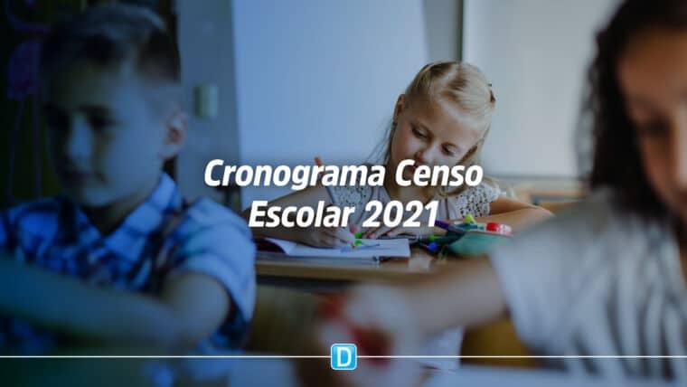 Inep define cronograma do Censo Escolar da Educação Básica 2021