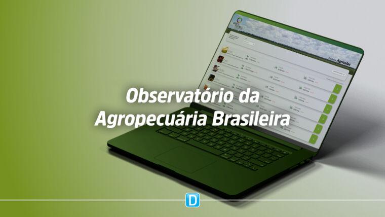 Mapa lança portal do Observatório da Agropecuária Brasileira
