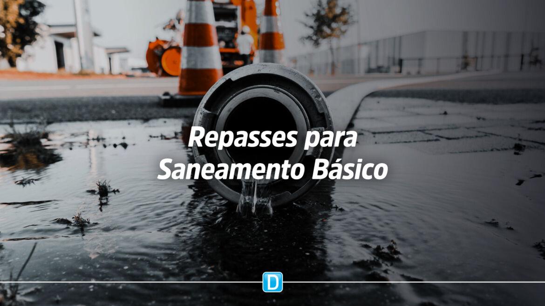 Governo Federal anuncia repasses para obras e projetos de saneamento básico em 15 unidades da federação