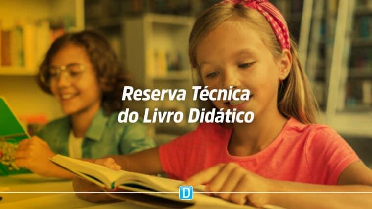 FNDE abre ferramenta de reserva técnica para solicitação de livros didáticos