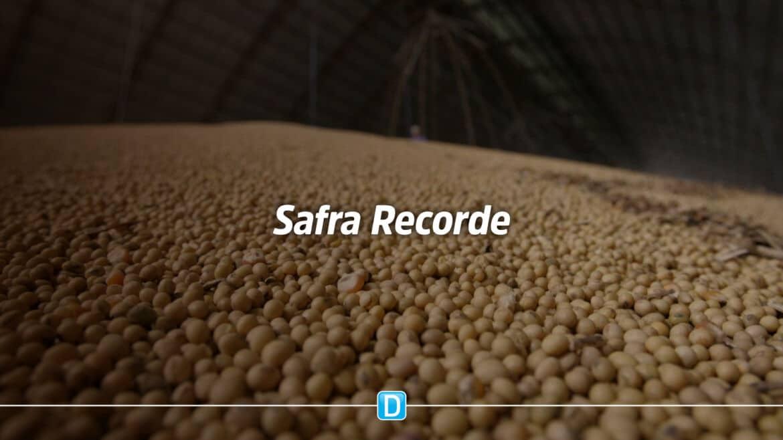Produção nacional deve bater novo recorde com 271,7 milhões de toneladas