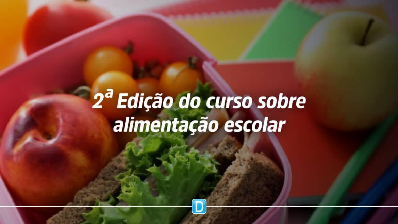 Pnae lança segunda edição de curso sobre alimentação escolar