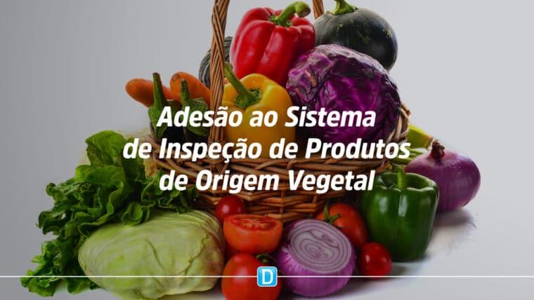 Portaria estabelece procedimentos para a adesão ao Sistema Brasileiro de Inspeção de Produtos de Origem Vegetal