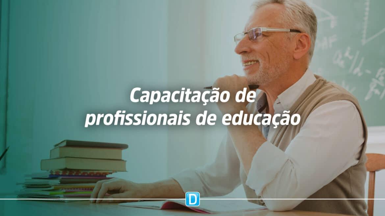 Profissionais da Educação serão capacitados em gestão