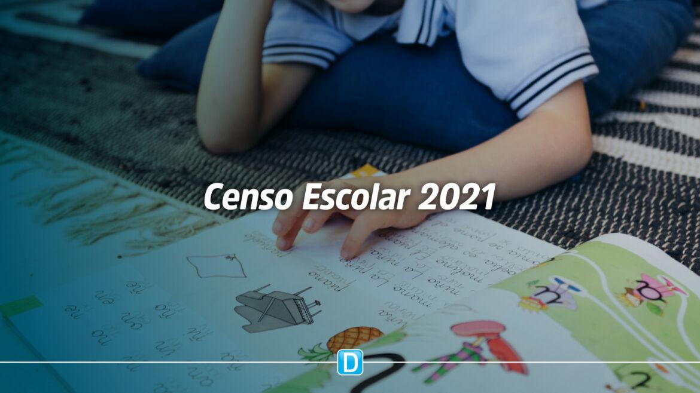 Censo Escolar 2021: coleta de dados vai até 23 de agosto