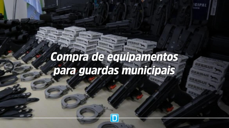 Projeto isenta prefeituras de IPI na compra de equipamentos para guardas municipais