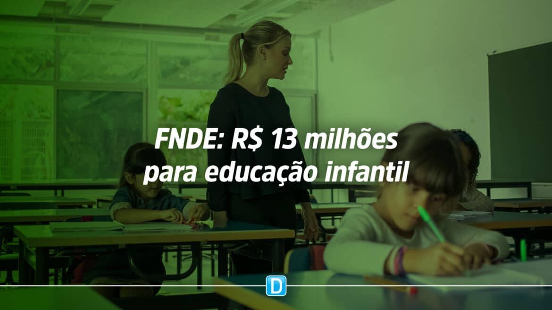 FNDE destinará R$ 13 milhões aos municípios brasileiros