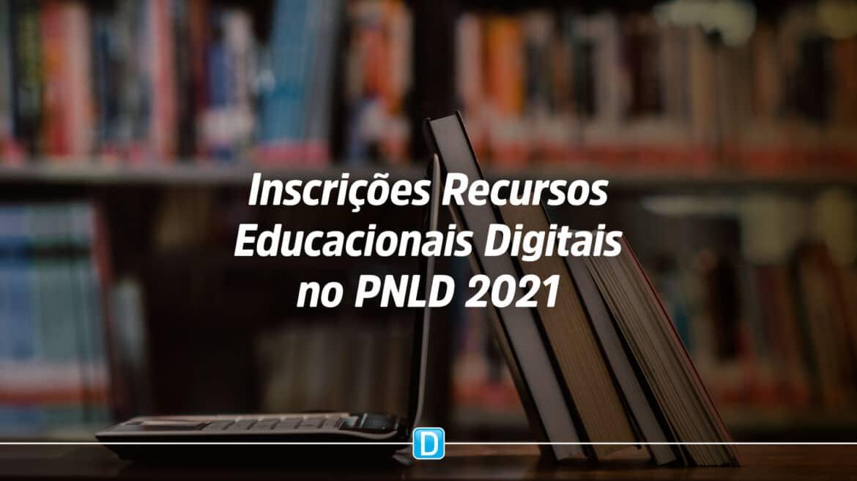 Recursos Educacionais Digitais no PNLD 2021 recebe inscrições até 25 de junho