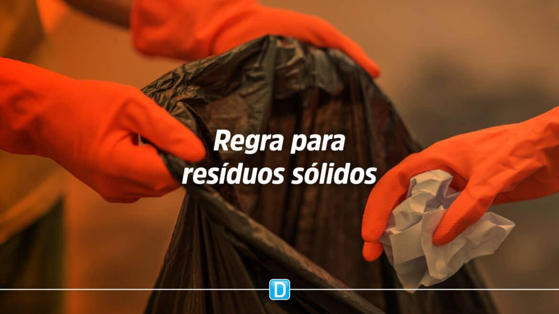 Proposta define regra para resíduos sólidos nos municípios com até 50 mil habitantes