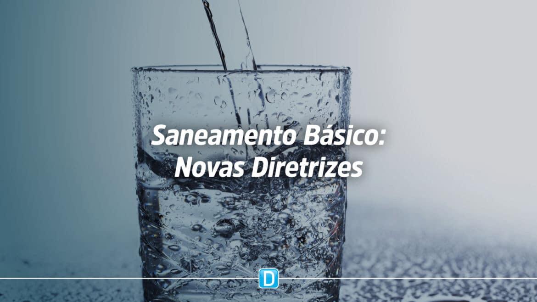 Lei de saneamento prevê a necessidade de as RMs integrarem as unidades regionais de saneamento básico até 15 de julho