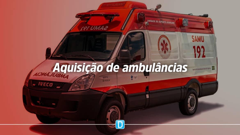 Ministério da Saúde altera portaria sobre emendas parlamentares para aquisição de ambulâncias