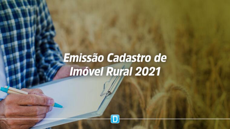 Certificado de Cadastro de Imóvel Rural de 2021 já pode ser emitido por proprietários rurais