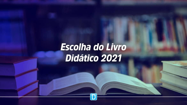 PNLD 2021: Gestores educacionais já podem escolher livros didáticos do programa