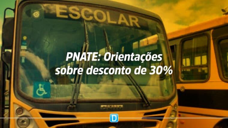 Esclarecimento do desconto de 30% do repasse da quinta parcela do PNATE