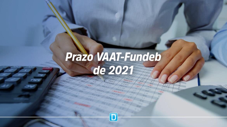 STN concede prazo extra para habilitação dos Entes ao cálculo do VAAT-Fundeb de 2021