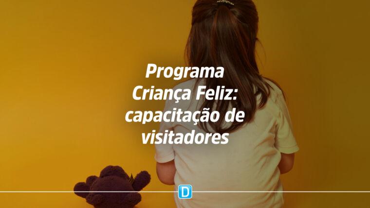 Curso de formação complementar para visitadores do Programa Criança Feliz