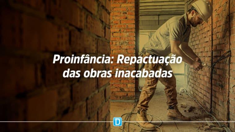 FNDE lança cartilha Mãos à obra! Guia para repactuação das obras inacabadas do Proinfância