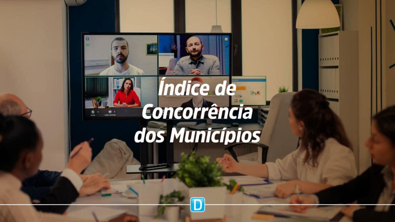 Índice de Concorrência dos Municípios é lançado no gov.br