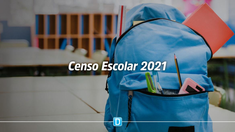 Educação Básica: MEC divulga resultado preliminar do Censo Escolar 2021