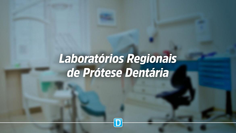 372 Municípios receberão recursos para Laboratórios Regionais de Prótese Dentária