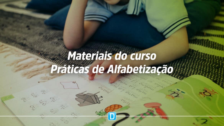 MEC lança livros do Curso Práticas de Alfabetização