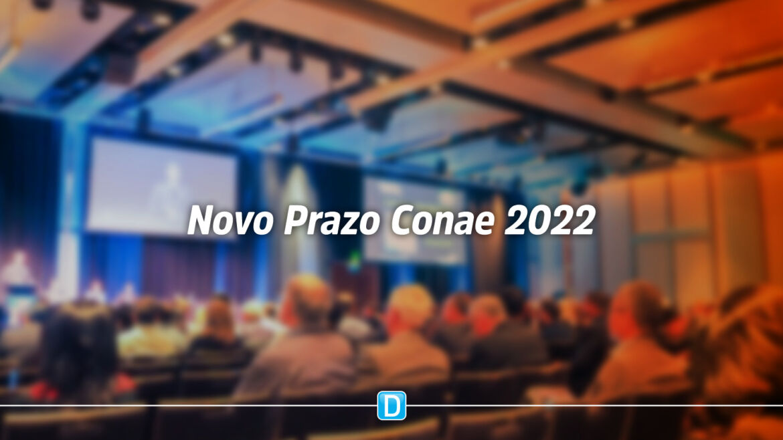 Conae 2022: Prorrogado o prazo para realização das Conferências Municipais de Educação