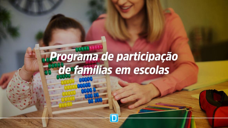 MEC lança programa para incentivar participação de famílias em escolas