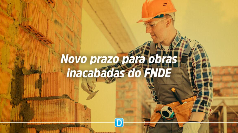 Obras inacabadas: prazo para retomada é estendido até 30 de dezembro