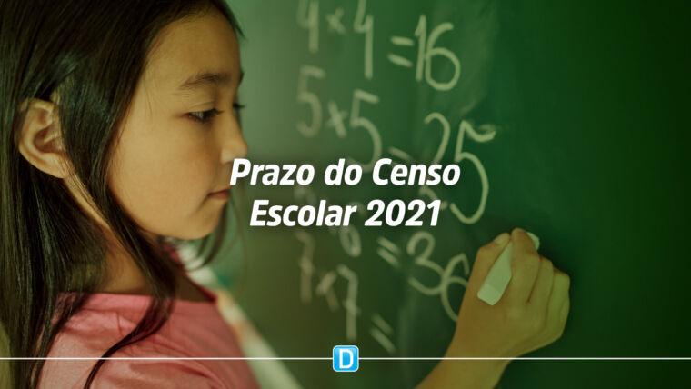 Censo Escolar 2021: Período de conferência de dados vai até 22 de outubro