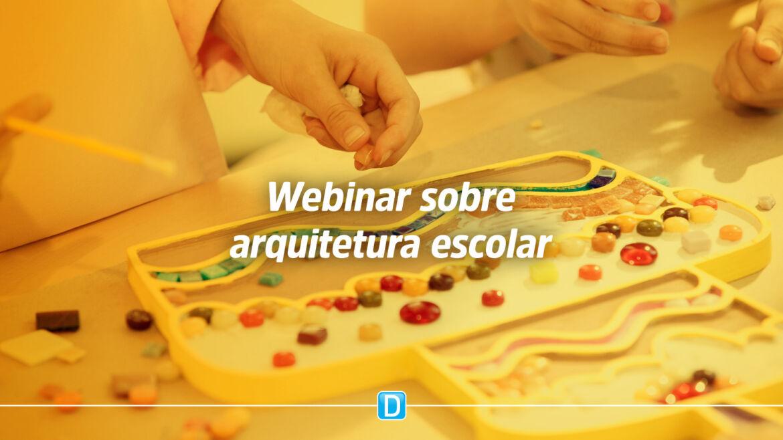 Prefeitos, secretários de educação, arquitetos, engenheiros e comunidade escolar em geral podem participar de webinar sobre arquitetura escolar